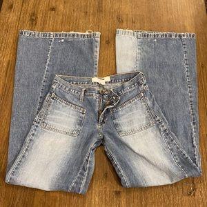 ❤️Vintage ZARA Women's Denim Wide Leg Jeans